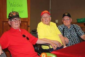 Sarge with his two brothers. They were Marines but we can't all be perfect... They have 40+ years of Service and 60+ years working at the VA Hospital!!! That is 100+ years of SERVICE to the Country and its Veterans! Hooah!!!