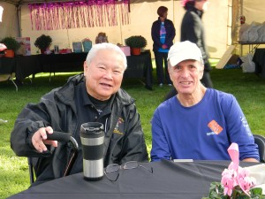 Clancy Matsuda with Director Emeritus Rick Stetson